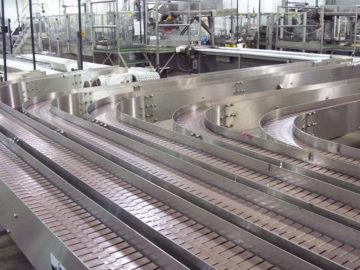 Table Top Chain Conveyors 2 Kleenline
