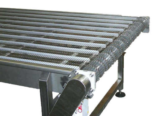Table Top Chain Conveyors Stainless Steel Hygienic