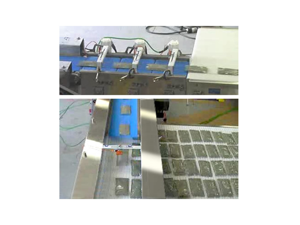 Belt Infeed Conveyor - Orienting and Positioning