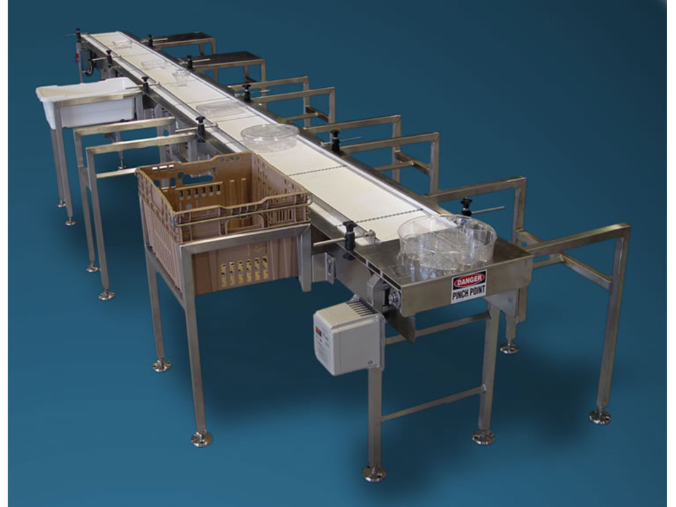Packing Table Conveyors - Preparation and Packing