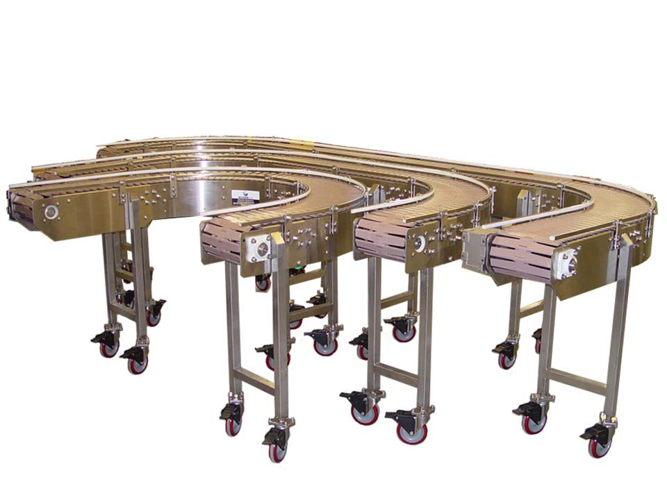 Table Top Chain Conveyors Kleenline