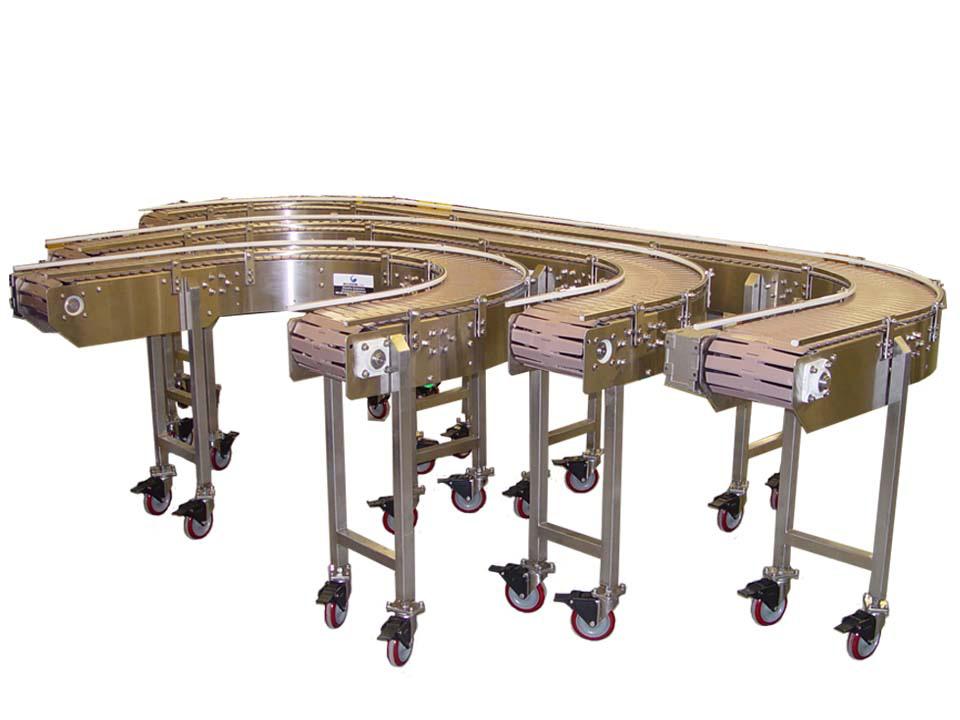 Table Top Chain Conveyors - Sanitary Conveyors